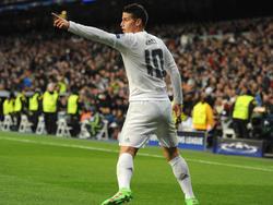 James Rodríguez könnte bis zu 90 Millionen Euro kosten