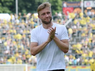 Jakub Błaszczykowski bedankt sich bei den BVB-Fans