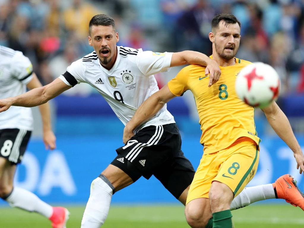 ANGRIFF: Sandro Wagner - Note 3,5