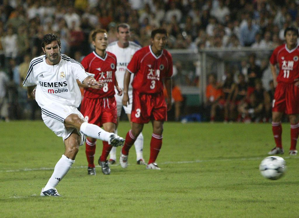 6. Platz: Luís Figo (Real Madrid) - Gewinn: 57,50 Mio.