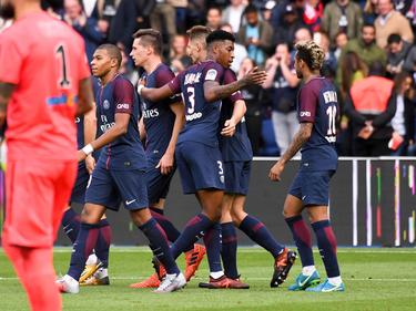 Paris Saint-Germain feiert einen Kantersieg gegen Bordeaux