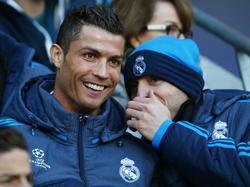 Konnte in Manchester nicht eingreifen: Cristiano Ronaldo (l.)