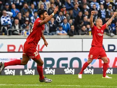 Elia Soriano (l.) traf zum zwischenzeitlichen 1:1-Ausgleich