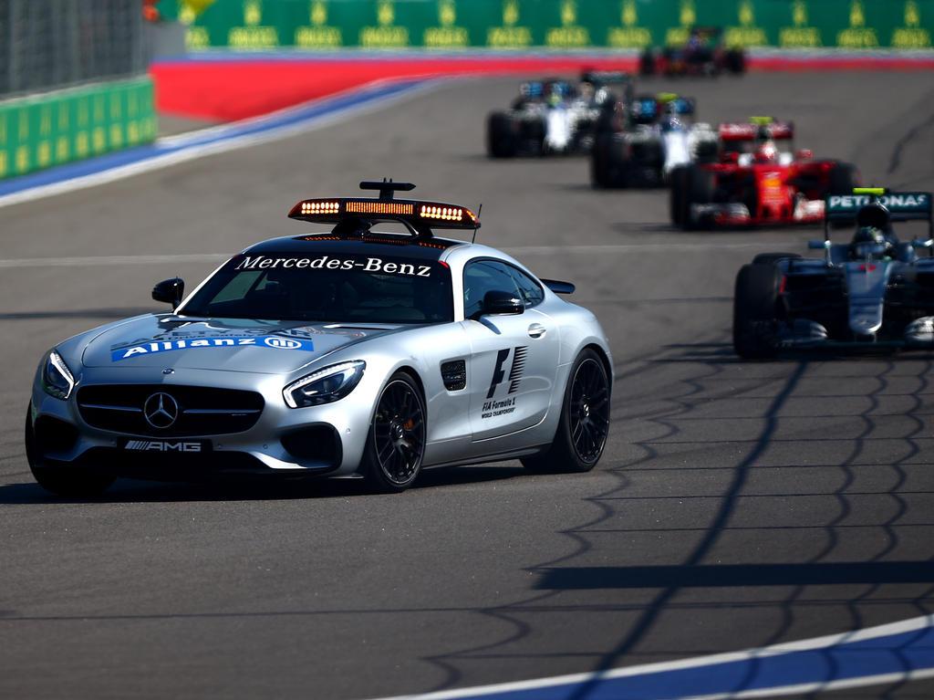 Spannungskiller: Safety-Car-Starts findet der geneigte Formel-1-Fan langweilig