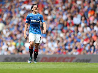 Joey Barton, jugador del Glasgow Rangers. (Foto: Getty)