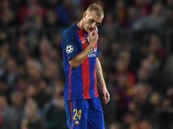 Drei Wochen Pause für Jeremy Mathieu vom FC Barcelona