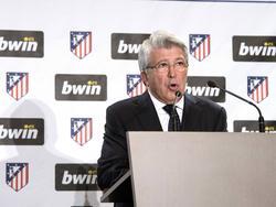 Enrique Cerezo ist Präsident von Atlético Madrid