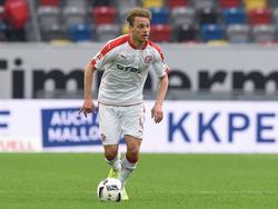Julian Schauertes Vertrag bei Fortuna Düsseldorf hat sich verlängert