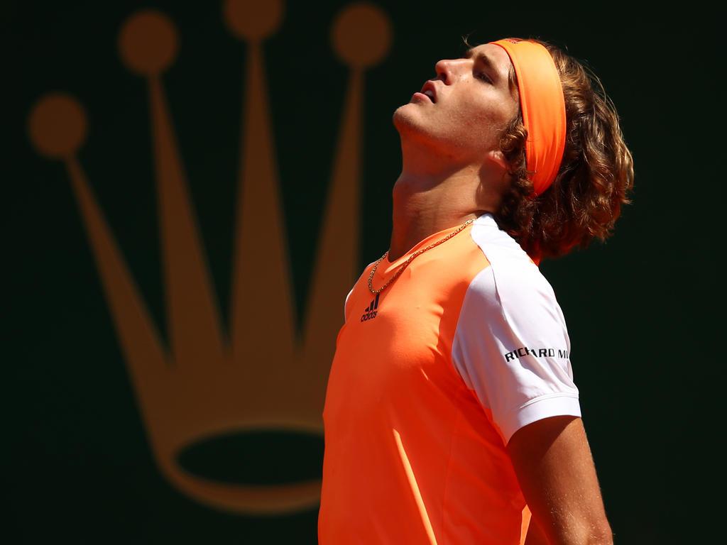 Alexander Zverev hat von Rafael Nadal eine Lehrstunde erhalten
