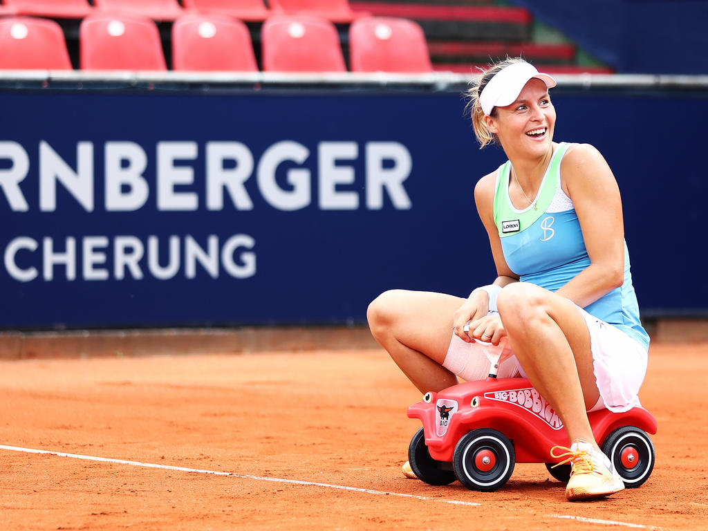 Platz 63 (▲4): Tatjana Maria - 964 Punkte