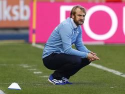 1860-Trainer Daniel Bierofka verlor mit seiner Mannschaft gegen die TSV Buchbach