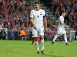 Polens Nationaltrainer Adam Nawalka muss wahrscheinlich ohne Robert Lewandowski auskommen