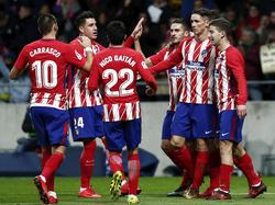 El Atlético ha rebasado un bache y se reencuentra con buenas sensaciones. (Foto: Getty)
