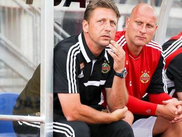 Carsten Jancker als Co-Trainer von Zoran Barisic bei Rapid