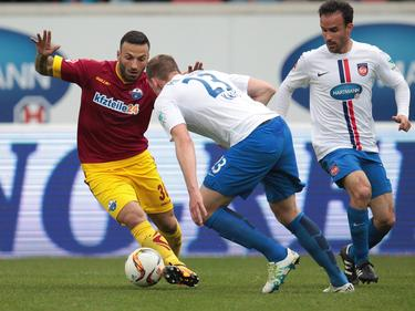 Süleyman Koc (l.) kam mit seinem SCP nicht über ein 1:1 hinaus