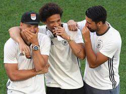 Lukas Podolski sorgt gerne für Lacher