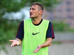 Francesco Totti gibt sich nicht immer politisch korrekt