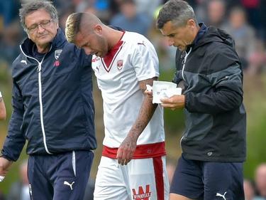 Jérémy Ménez musste verletzt raus
