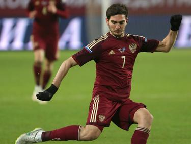 Magomed Ozdoev erzielte für die Nationalmannschaft Russlands den Siegtreffer
