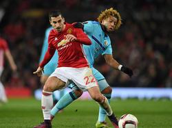 Henrikh Mkhitaryan darf bei Manchester United endlich wieder spielen