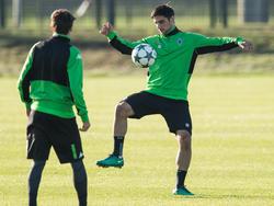Lars Stindl könnte schon gegen Eintracht Frankfurt wieder auf dem Platz stehen