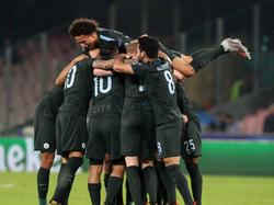 El Manchester City se llevó otros tres puntos de Nápoles. (Foto: Getty)