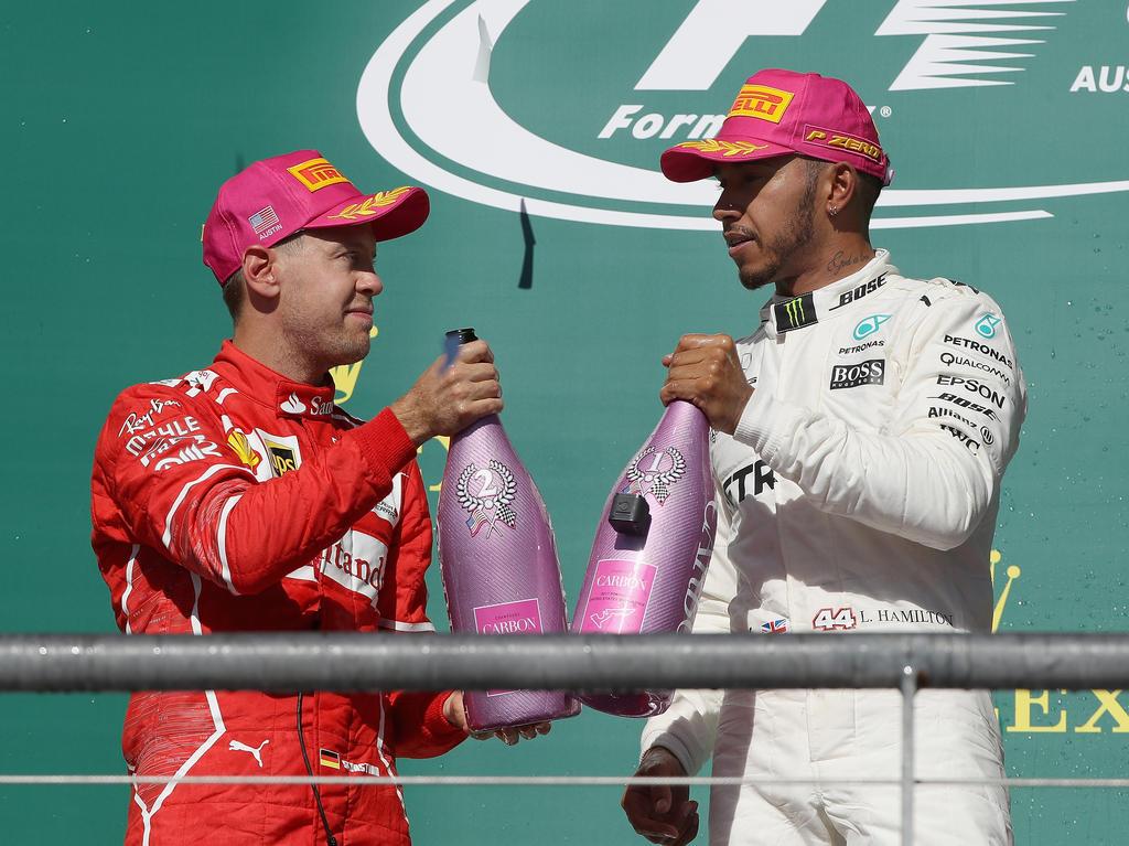 Sebastian Vettel und Lewis Hamilton: Ist der eine nervenstärker als der andere?