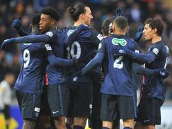 Zlatan Ibrahimović erzielte den Siegtreffer für PSG