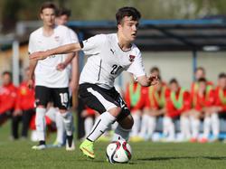 Österreichs Youngster legteb eine Talentprobe ab