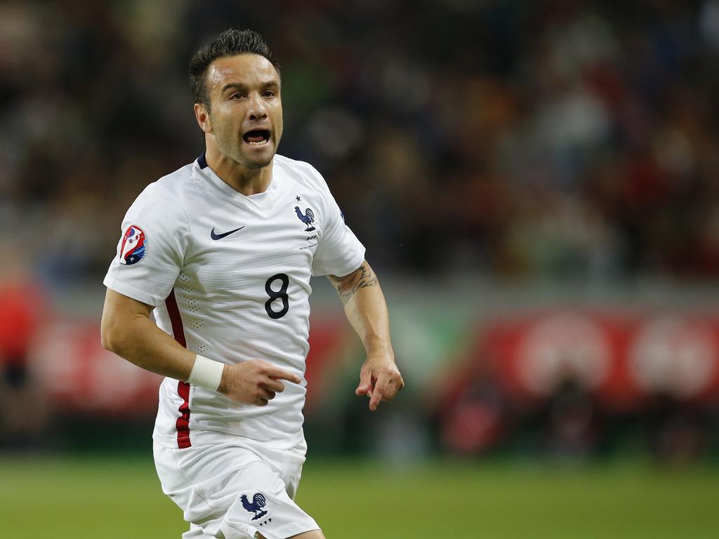 Valbuena con la selección francesa (Foto: Getty)
