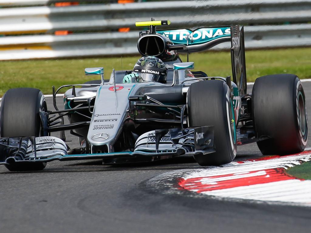 Nico Rosberg feierte seinen ersten Sieg in Belgien