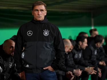 Für Stefan Kuntz und die U21-Nationalmannschaft steht der letzte Härtetest vor der EM an.