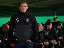 Stefan Kuntz und die deutsche U21 testen gegen Portugal