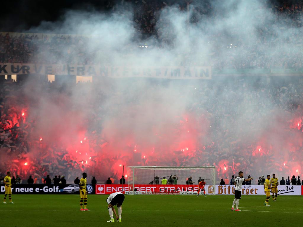 Dortmund und Frankfurt droht Pyro-Ärger