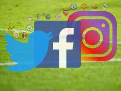 Real Madrid führt das Social-Media-Ranking der europäischen Topklubs an