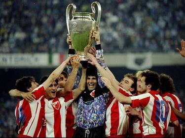 El Estrella Roja fue campeón de Europa en 1991. (Foto: Getty)
