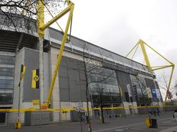 Am Dortmunder Stadion wurde ein Blindgänger gefunden
