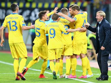 Con 13 puntos de ventaja, el BATE ya no puede ser alcanzado por el Dinamo Minsk. (Foto: Getty)