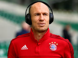 Arjen Robben bleibt gelassen