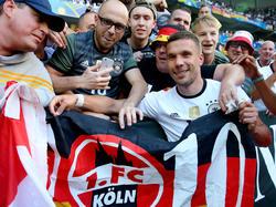 Lukas Podolski dürfte so schnell nicht zum 1. FC Köln zurückkehren