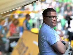 Max Eberl bekräftigt: Gladbach ist am Boden geblieben