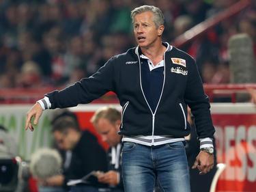 Jens Keller ist mit Union Berlin auf Aufstiegskurs