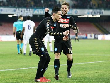Un gol de Callejón a 20 minutos para el final dio al Nápoles la victoria. (Foto: Getty)