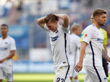 Hertha-Profi Mitchell Weiser zog sich bei der U21 eine Verletzung zu