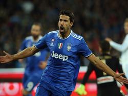 Sami Khedira kann wieder für Juve auflaufen
