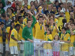 2013 triumphierte Brasilien beim Confed Cup - was bei der WM folgte, ist Geschichte