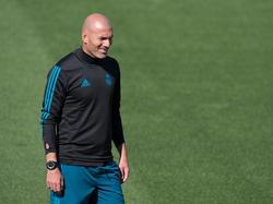 Zinédine Zidane wird seinen Vertrag bei den Königlichen angeblich verlängern