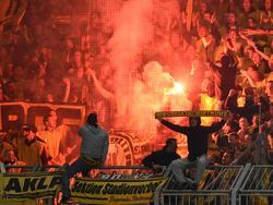 Dortmunds Fans zündelten in Nikosia