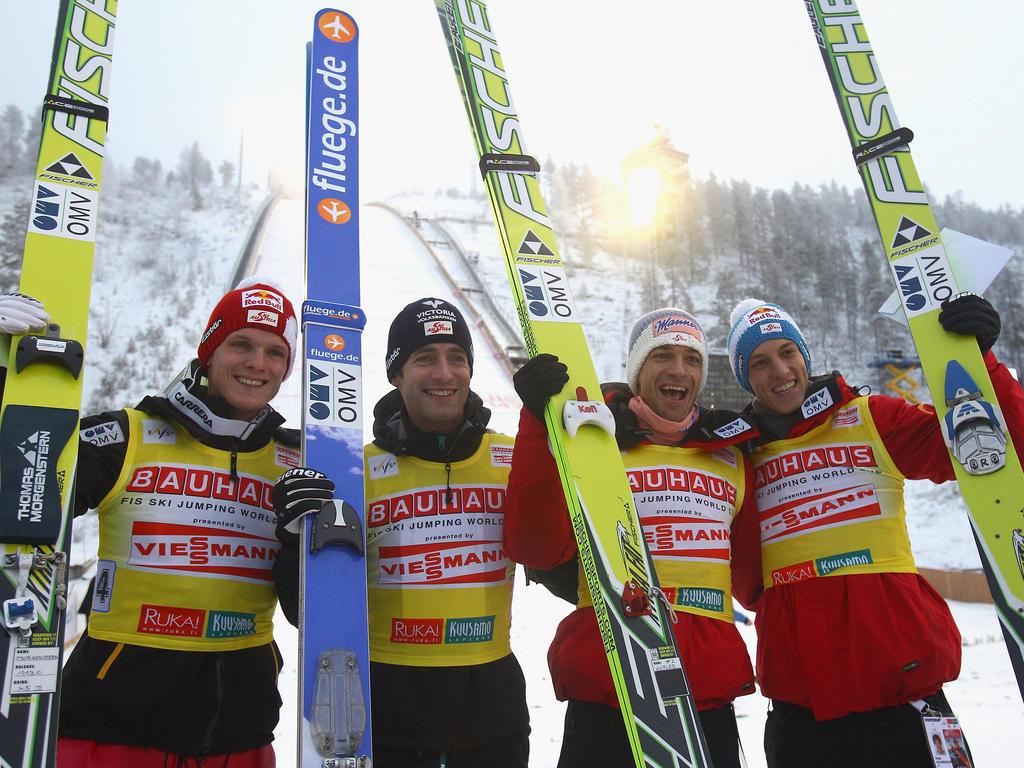 Skispringen: Seriensieger Österreich