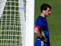 Iker Casillas stellt sich ohne Murren hinten an